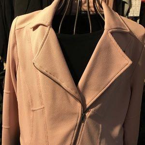Torrid size 2 (18-20) pale pink motto jacket